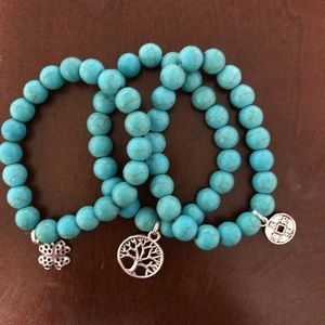 Jewelry - Turquoise bracelet set